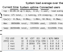 Understanding TOP command linux